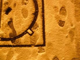 """La forme des choses (20 janvier 2013) - """"The shape of things to come"""" (ou that came, en l'occurence...), des traces qui racontent une histoire pour qui veut prendre la peine de regarder..."""