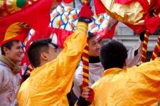 Nouvel An chinois (Paris, 1er février 2015) - LEes dragons