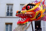Nouvel An chinois (Paris, 1er février 2015) - les dragons