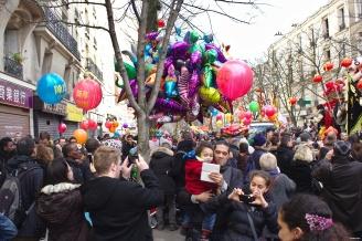 Nouvel An chinois (Paris, 1er février 2015) - Dans la foule
