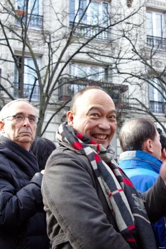 Nouvel An chinois (Paris, 1er février 2015) - Portrait