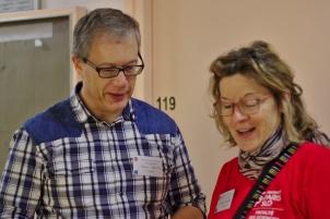 Frédéric Voisin et Sylvie Congnard (LRI)