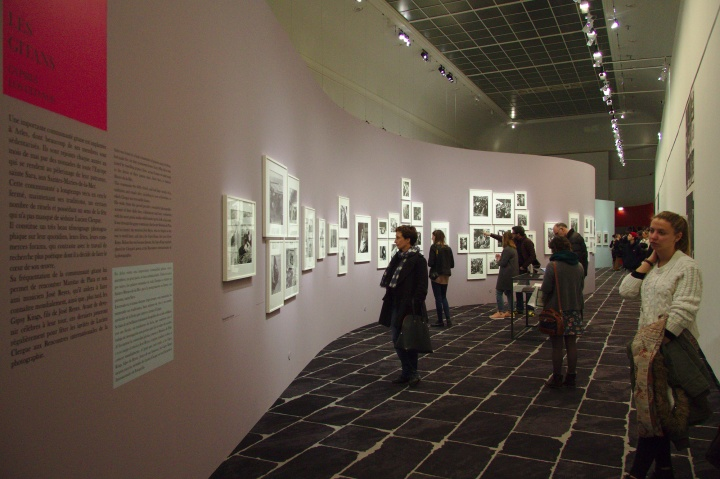 Exposition Julien Clergue, Grand Palais, décembre 2015
