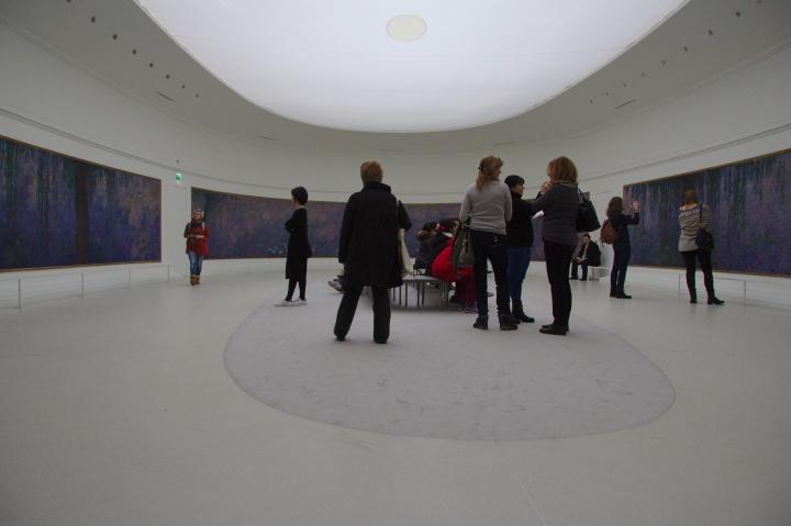 Musée de l'Orangerie, janvier 2016
