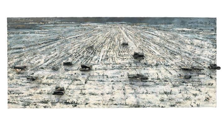"""Anselm Kiefer, """"Für Paul Celan : Aschenblume"""" (Pour Paul Celan, Fleur de cendre), 2006"""