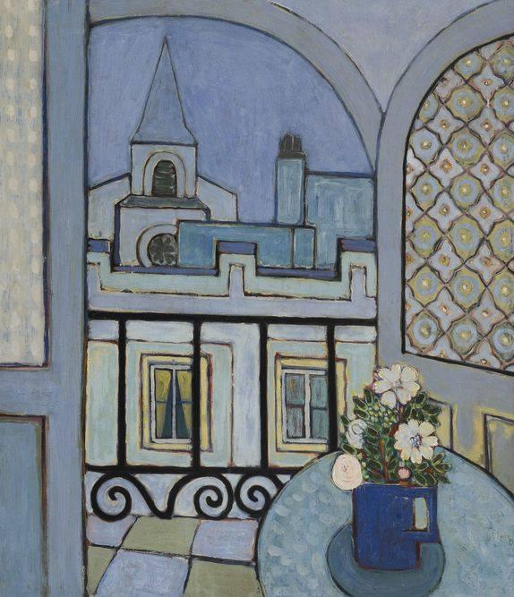"Wilfredo Lam, ""La Ventana"" (la fenêtre) 1935"