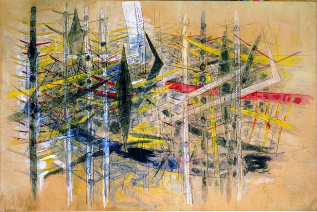 Wilfredo Lam, Sans titre, 1958