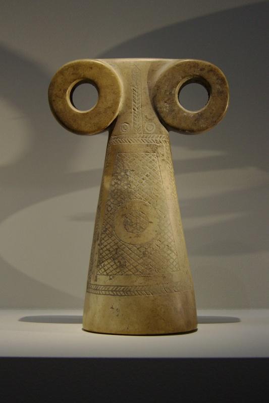 """""""Idole aux yeux"""", nord de la Mésopotamie, IVe millénaire avant J.-C."""