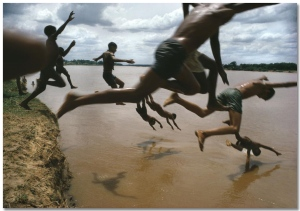 Bruno Barbey, Amazone, 1966