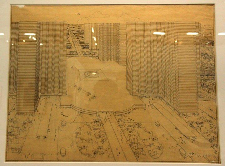 """Exposition """"Le Corbusier, mesures de l'homme"""", Centre Pompidou, 26 mai 2015"""