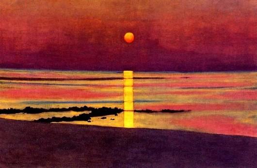 Coucher de soleil, 1913