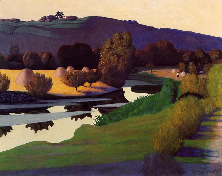 Soirée sur la Loire, 1923
