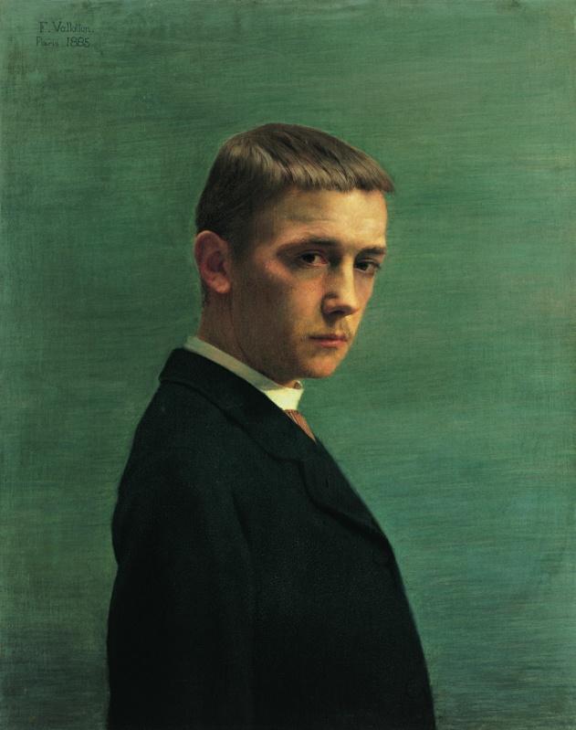 Autoportrait à l'âge de vingt ans, 1885