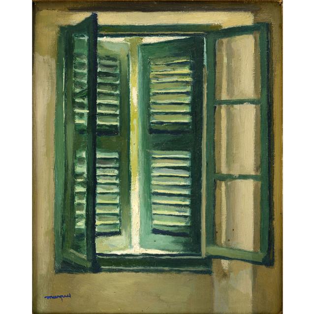 Albert Marquet, Les persiennes vertes, 1944-1946