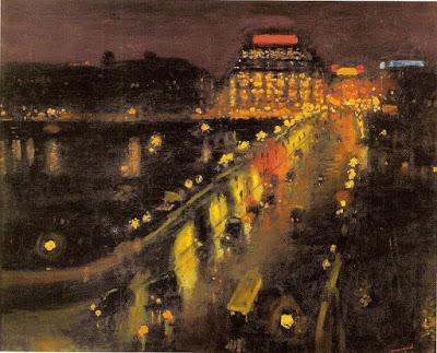 Albert Marquet, Le Pont-Neuf de nuit, 1935