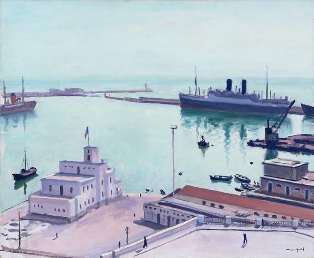 Albert Marquet, Le port d'Alger, 1941