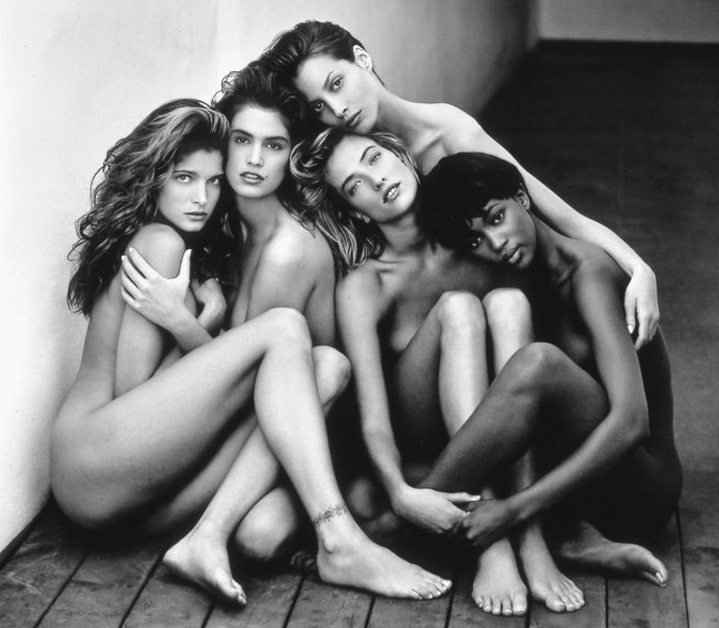 Herb Ritts, Stephanie-Cindy--Christy-Tatjana-Naomi, 1989