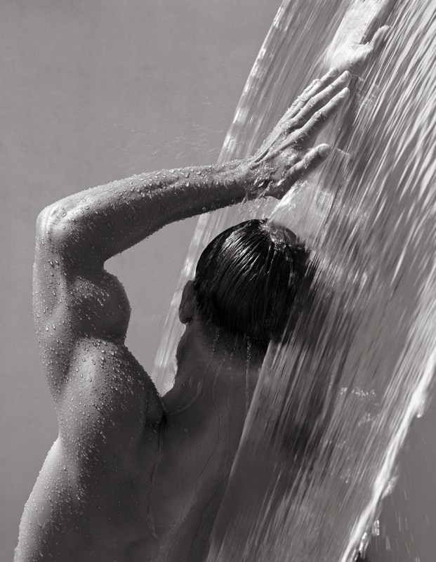 Herb Ritts, Waterfall IV, 1988