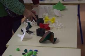 "Fête de la science, LRI, 2016 : atelier ""Impression 3D"" (Hervé Bertin et Alba Málaga)"