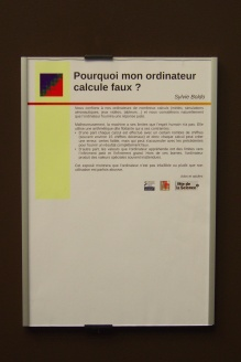 """Fête de la science, LRI, 2016 : atelier """"Arithmétique"""" (Sylvie Boldo)"""