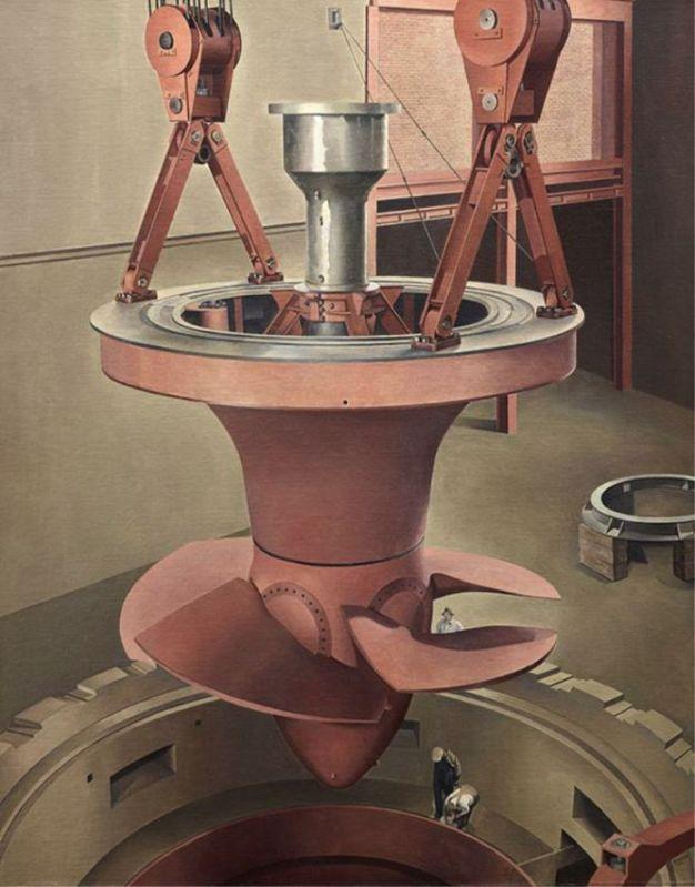 Charles Scheeler, Suspened Power, 1939