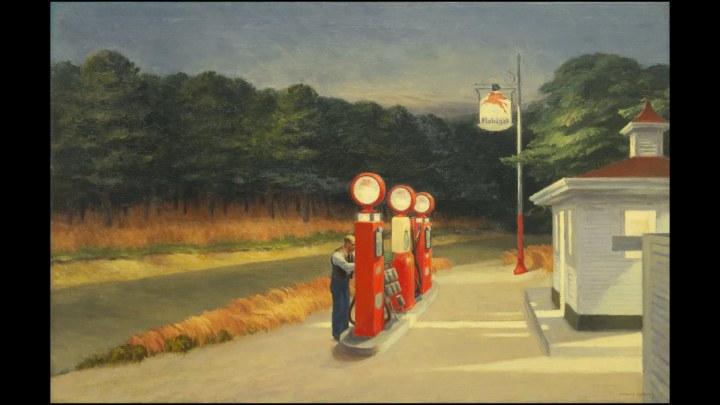 Edward Hopper, Gas Station, 1940