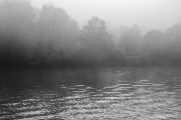 Brume sur la Seine (novembre 2016)