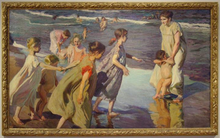 Joaquín Sorolla, L'été, 1904