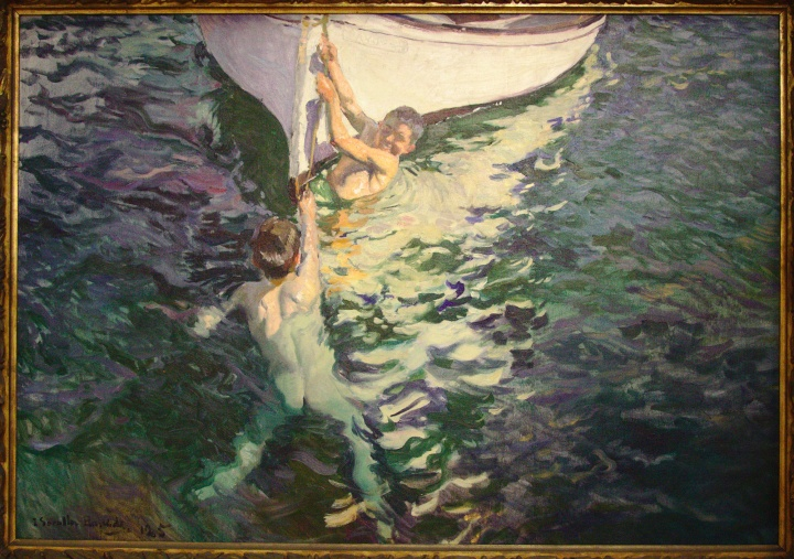"Joaquín Sorolla, ""Le bateau blanc. Jávea"", 1905"