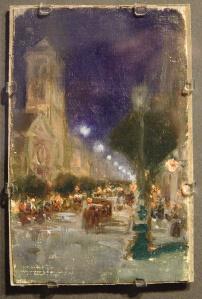 Joaquín Sorolla, Boulevard de Paris, 1885
