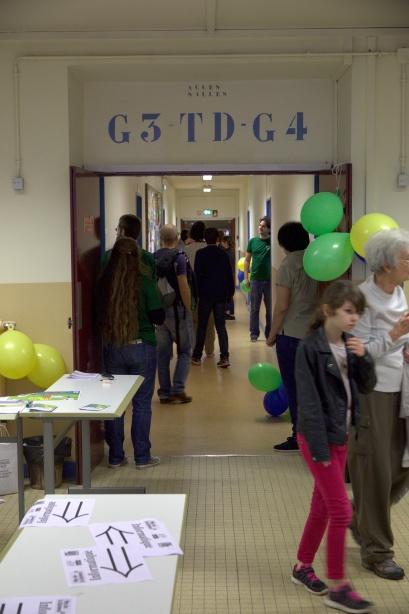 Fête de la Science, Laboratoire de recherche en informatique, université Paris Saclay, octobre 2017
