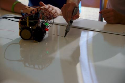 Nicolas Thiéry, Fabrique ton propre robot, FDS 2017